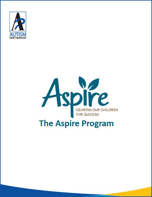AutismPartnership_Aspire Program 2019_cover