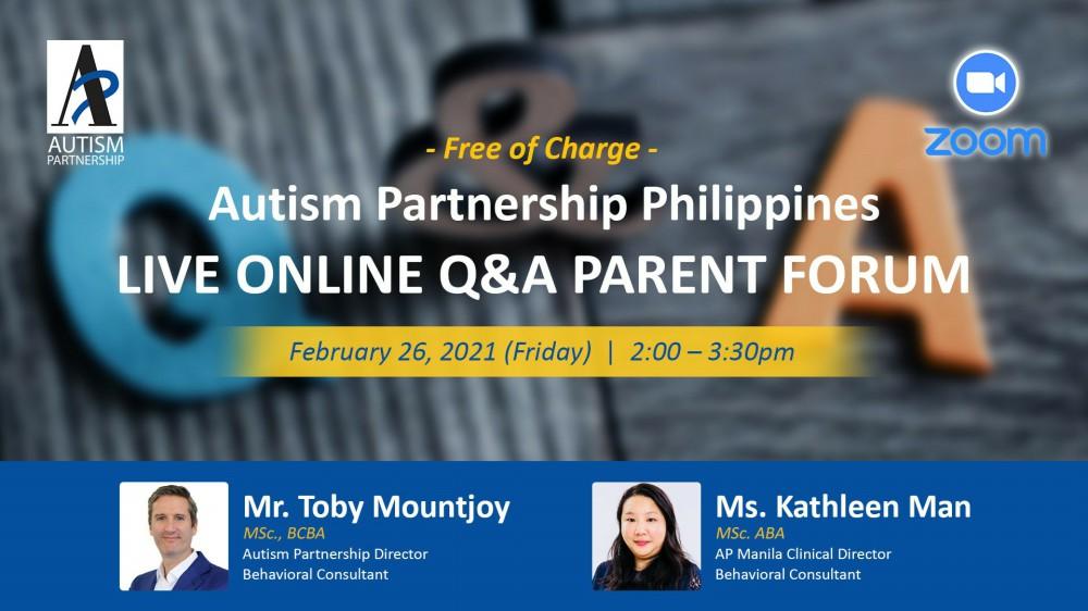 autism-partnership-live-online-qa-parent-forum