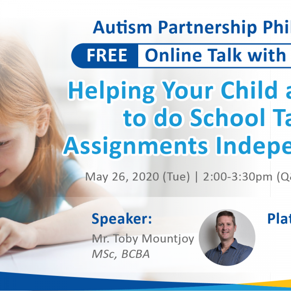 FREE Online Talk with Role Play: Helping Your Child at Home to do School Tasks and Assignments Independently