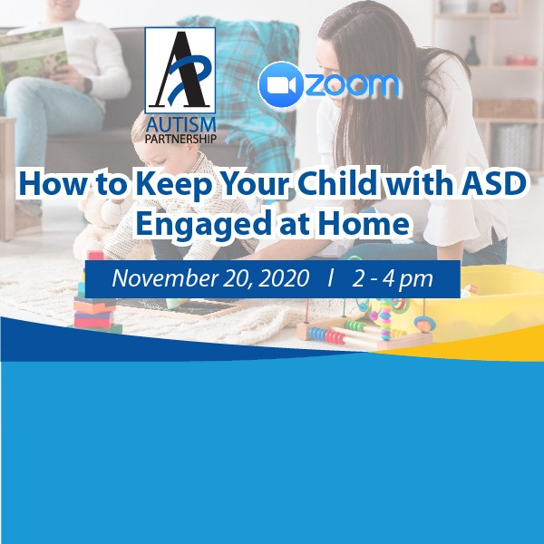 How to Keep Your Child with ASD Engaged at Home