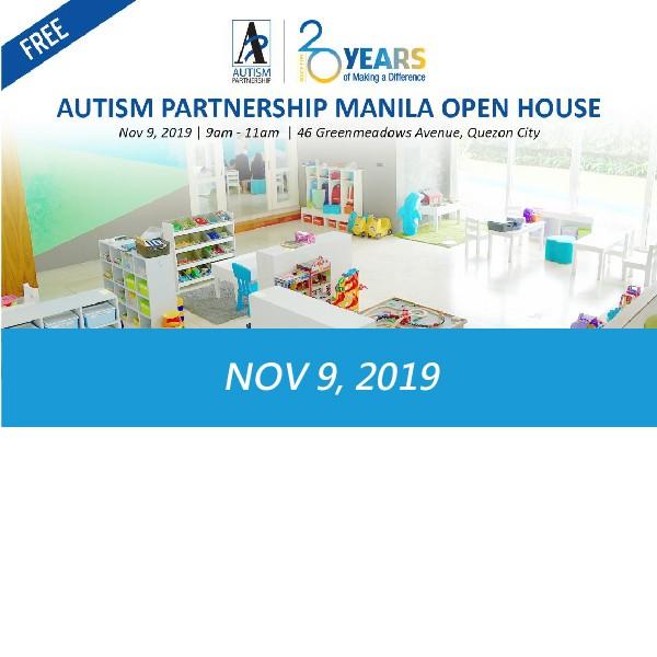 Autism Partnership Manila Open House – Philippines