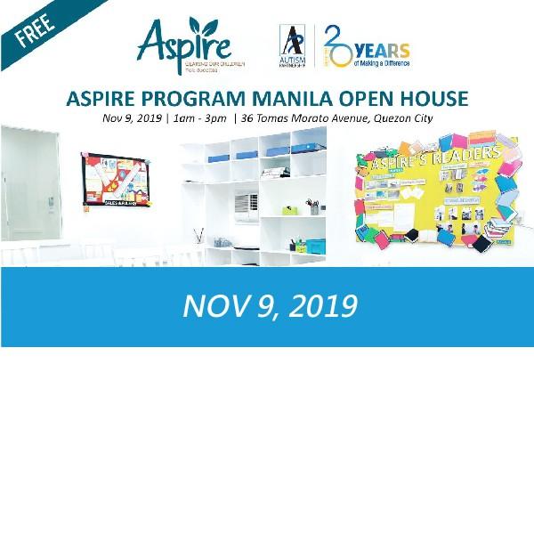 Aspire Program Manila Open House – Philippines