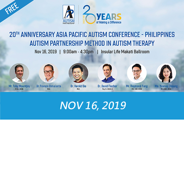 """AP Method to Autism Therapy"" Conference– Philippines"