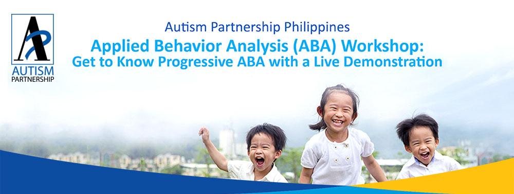 applied behavior analysis aba workshop get to know progressive aba with live demonstration. Black Bedroom Furniture Sets. Home Design Ideas