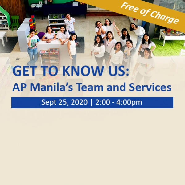 Get to know us: AP Manila's Team and Services